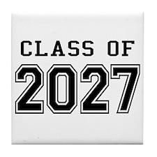 Class of 2027 Tile Coaster