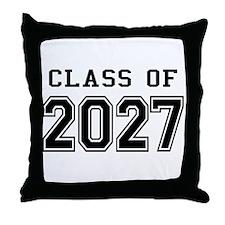 Class of 2027 Throw Pillow