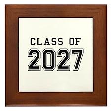 Class of 2027 Framed Tile