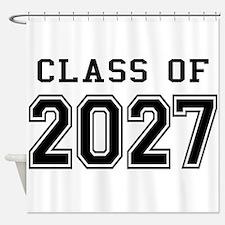 Class of 2027 Shower Curtain