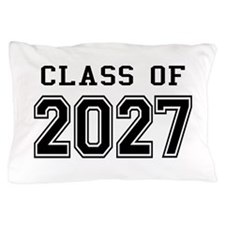 Class of 2027 Pillow Case