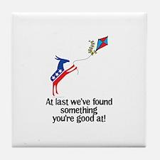 Liberals, Go Fly A kite Tile Coaster