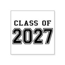 Class of 2027 Sticker