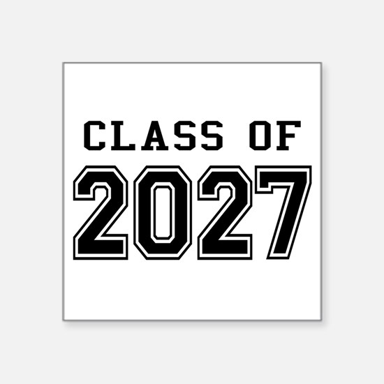 Class of 2027 Sticker
