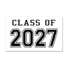 Class of 2027 Car Magnet 20 x 12