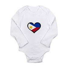Unique Filipino Long Sleeve Infant Bodysuit