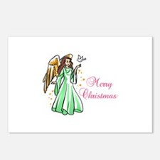 MERRY CHRISTMAS ANGEL Postcards (Package of 8)