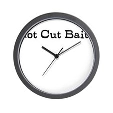got cut bait? Wall Clock