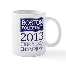 Boston Hide and Seek Champions Mugs