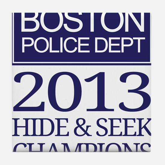 Boston Hide and Seek Champions Tile Coaster