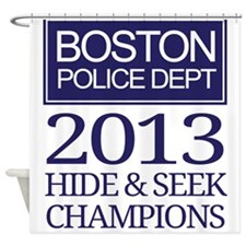 Boston Hide and Seek Champions Shower Curtain