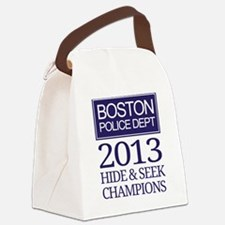 Boston Hide and Seek Champions Canvas Lunch Bag