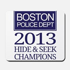 Boston Hide and Seek Champions Mousepad
