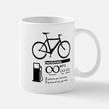 Bicycle Infinity MPG Fuel Economy Mugs