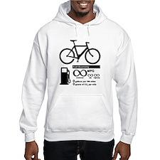 Bicycle Infinity MPG Fuel Economy Hoodie