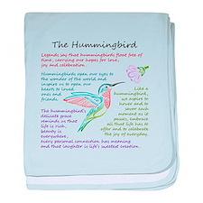 The Hummingbird baby blanket