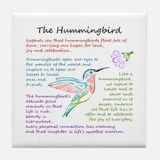 The Hummingbird Tile Coaster