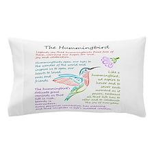 The Hummingbird Pillow Case