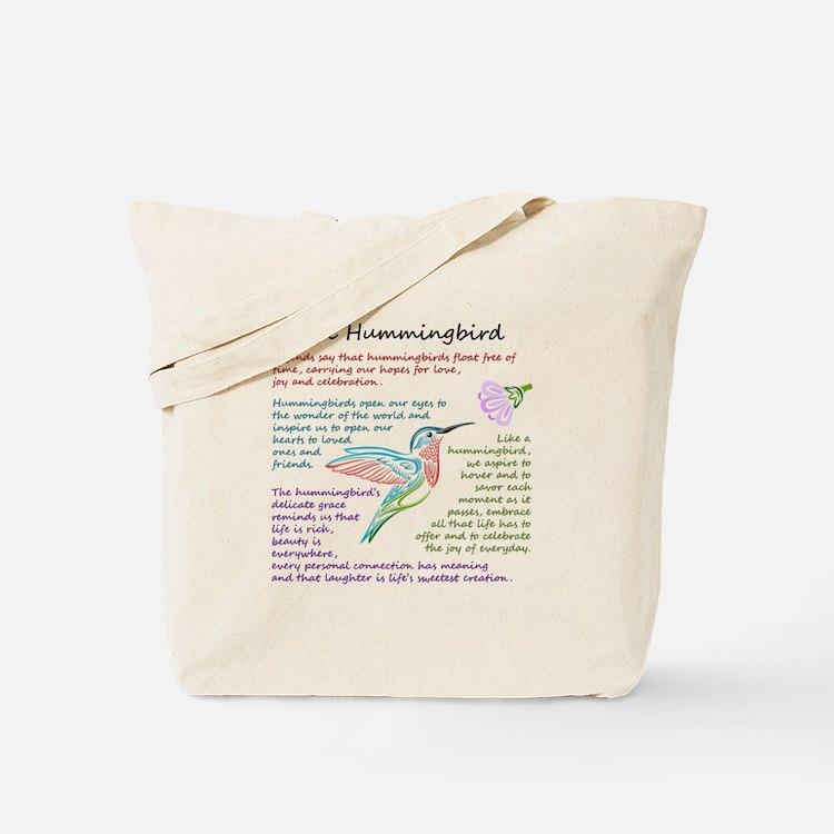The Hummingbird Tote Bag