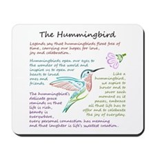 The Hummingbird Mousepad