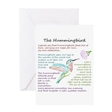 The Hummingbird Greeting Cards