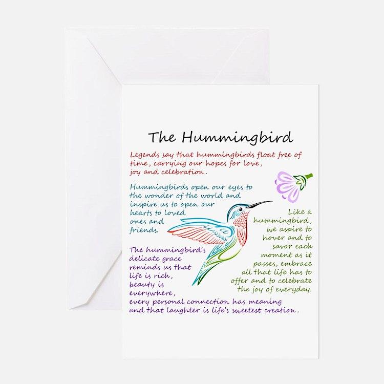 The Hummingbird Greeting Cards