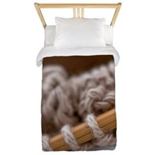 Knitting Needles Twin Duvet
