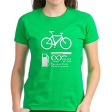 Bicycle Infinity MPG Fuel Economy T-Shirt