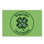 Pirish - Celebrate Pi Day Postcards (package Of 8)