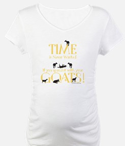 Time Never wasted if you spend i Shirt
