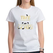Time Never wasted if you spend it Tee