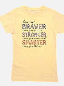 Braver Stronger Smarter Girl's Tee