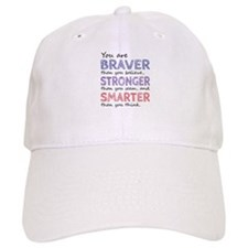 Braver Stronger Smarter Baseball Cap