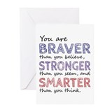 Braver than you believe Stationery