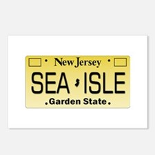 Sea Isle City NJ Tag Gift Postcards (Package of 8)