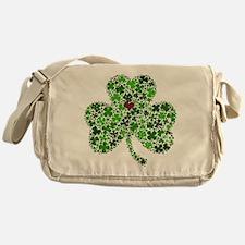 Irish Shamrock of Shamrocks for St. Messenger Bag