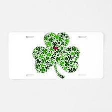 Irish Shamrock of Shamrocks Aluminum License Plate