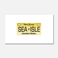 Sea Isle City NJ Tag Gifts Car Magnet 20 x 12