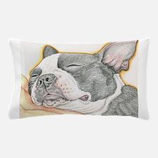 Sleepy Boston Terrier Pillow Case