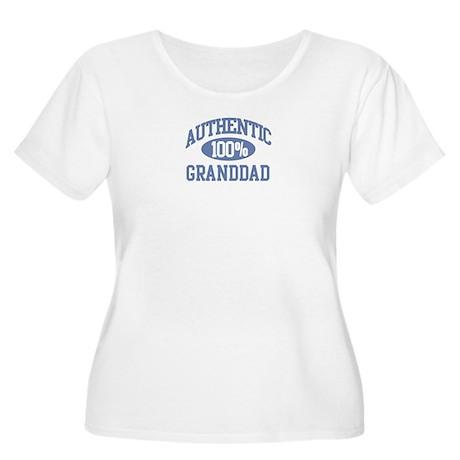Authentic Granddad Women's Plus Size Scoop Neck T-