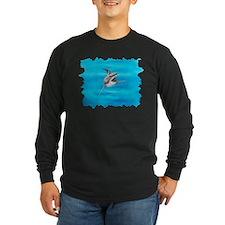Great White Shark ~ Dark Long Sleeve T-Shirt