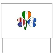 Shamrock of Honduras Yard Sign