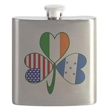 Shamrock of Honduras Flask