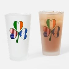 Shamrock of Honduras Drinking Glass