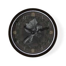 Dark Rites ~ Dragon Wall Clock