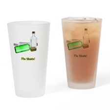 Flu Shots Drinking Glass