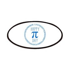 Happy Pi Day in Blue Patch