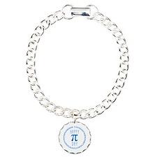 Happy Pi Day in Blue Bracelet