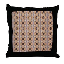 EARTH DANCE Throw Pillow