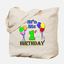 It's My 1st Birthday Tote Bag